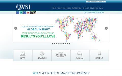 Screenshot of Menu Page eworkswsi.com.cy - Your Professional Digital Marketing Firm in Cyprus - captured Feb. 1, 2016