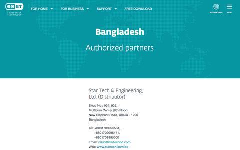ESET Partners - Bangladesh | ESET