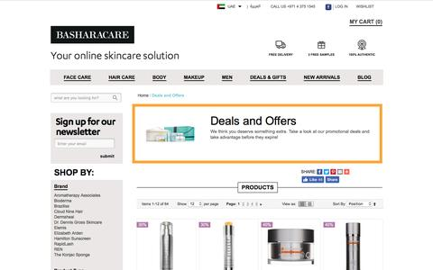 Skincare Deals Offers Discount Dubai Abu Dhabi UAE