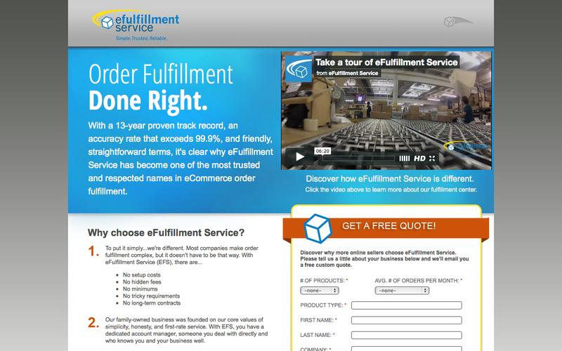 Award-Winning Order Fulfillment Center | eFulfillment Service