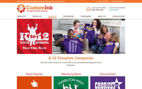K12 T-Shirt Designs - Designs For Custom K12 T-Shirts - Free Shipping!