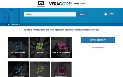 Veracode Customer Community