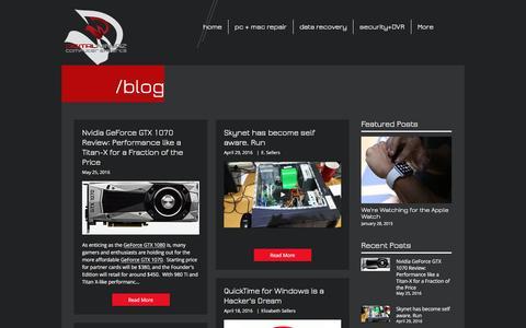Screenshot of Blog digitalninjaz.com - Digital NinjaZ Blog | Computer Repair - captured Nov. 24, 2016