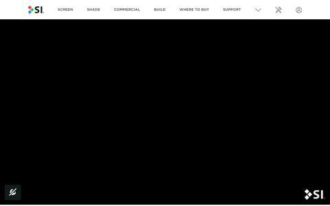 Screenshot of Home Page screeninnovations.com - Projection Screen By Screen Innovations - HD Projector Screen - captured April 27, 2018