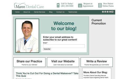 Mann Dental Care Blog