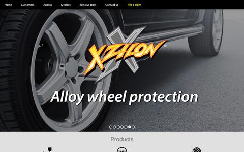 Screenshot of Home Page xzilon.com - Xzilon | Home - captured Aug. 4, 2019