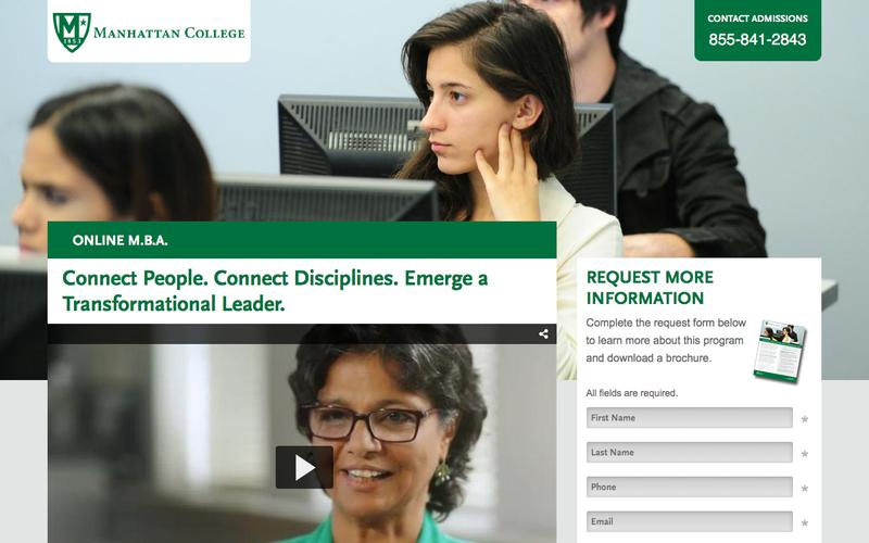 Online Master of Business Administration | Manhattan College