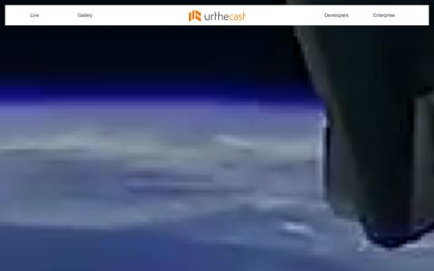 Screenshot of Jobs Page urthecast.com - Urthecast - See the planet. Open the world. - captured Jan. 15, 2016
