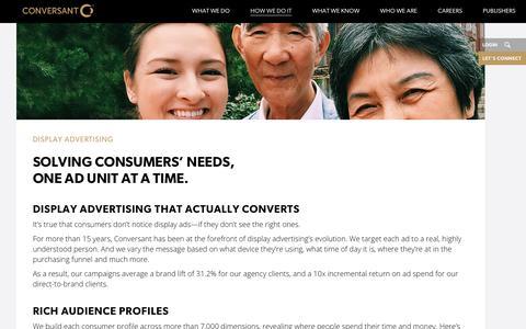 Display Advertising | Programmatic Marketing | Conversant