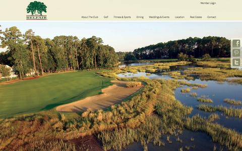 Screenshot of Home Page belfair1811.com - Belfair | A Private Golf Community in Bluffton SC - captured Feb. 7, 2016
