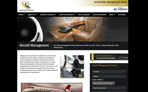 Screenshot of Team Page empire.aero - Aircraft Sales|Private Jet Charter Luxury travel packages|Online hotel bookings - captured Oct. 2, 2014