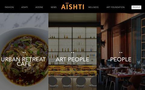 Screenshot of Team Page aishti.com - Aïshti - People - captured Dec. 28, 2017