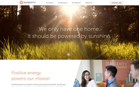 Company - About Us - Sungevity