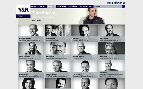 Screenshot of Team Page yr.com - People | Y & R - captured Jan. 16, 2016