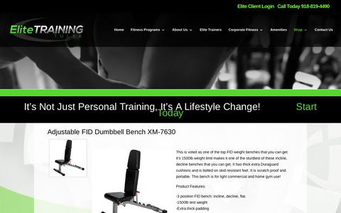 Elite Training Tulsa | Products | Elite Training