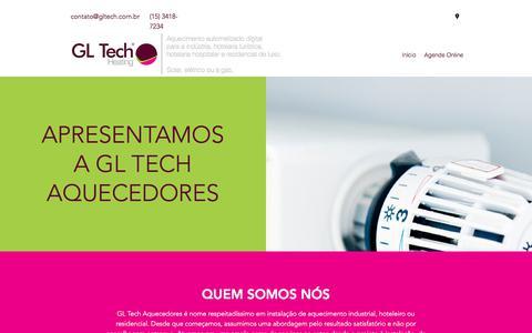 Screenshot of Home Page banhosdeluxo.com.br - Início - captured Sept. 26, 2018