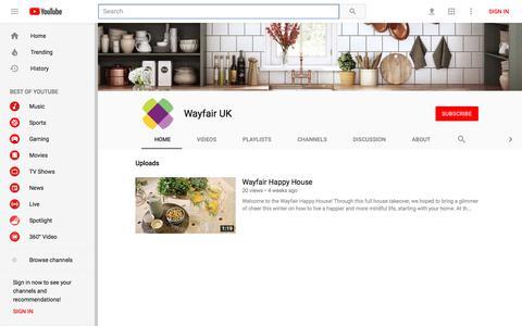 Wayfair UK - YouTube - YouTube