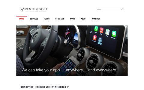 Venturesoft = Product Strategy + Software Development