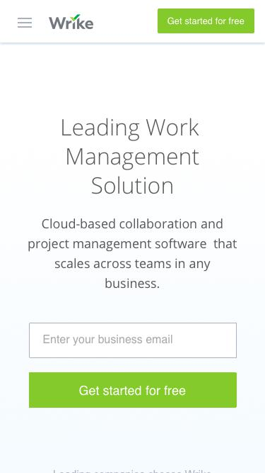 Leading Work  Management Solution