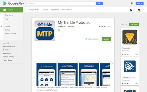 My Trimble Protected - Apps on Google Play
