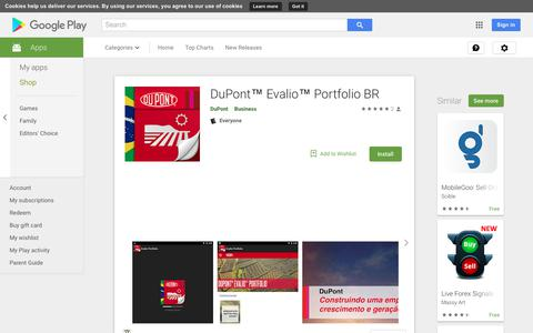 DuPont™ Evalio™ Portfolio BR - Apps on Google Play