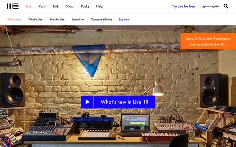 New in Live: Discover the new features Ableton Live has to offer | Ableton