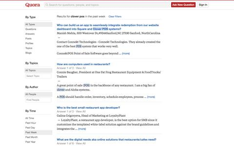Search - clover pos - Quora
