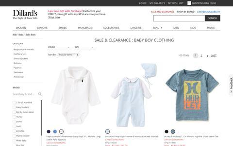 Sale & Clearance Baby Boys Clothing | Dillards