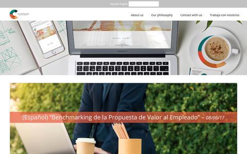 Screenshot of Blog compensach.com - Publications - Compensa Capital Humano - captured Aug. 19, 2017