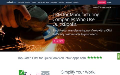 CRM for Manufacturing | Method:CRM