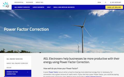 Power Factor Correction | AGL