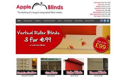 Apple Blinds - Altrincham - Sale - Macclesfield - Bury - Chester - Warrington - Handforth