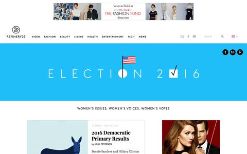 2016 Presidential Election Candidates, Speeches, News
