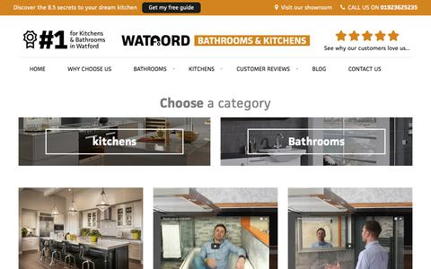 Screenshot of Blog watfordbathroomsandkitchens.co.uk - Bathroom and Kitchen News & Advice   Watford Bathrooms & Kitchens - captured Sept. 21, 2018