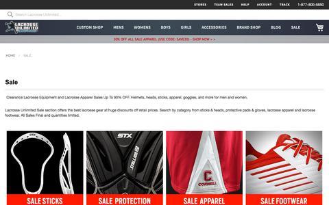 Lacrosse Clearance | Sales | Discounts | Lacrosse Unlimited