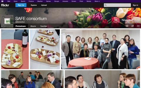 Screenshot of Flickr Page flickr.com - Flickr: safeconsortium's Photostream - captured Oct. 26, 2014