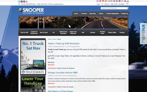 Screenshot of Press Page snooper.co.uk - News - News - captured Sept. 19, 2014