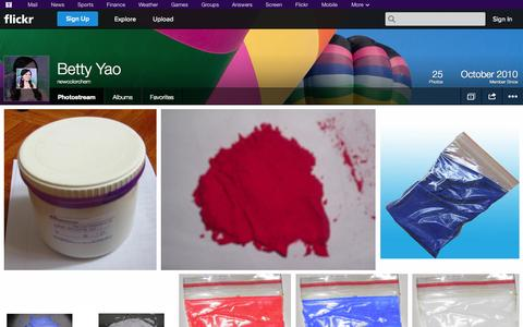 Screenshot of Flickr Page flickr.com - Flickr: newcolorchem's Photostream - captured Oct. 26, 2014