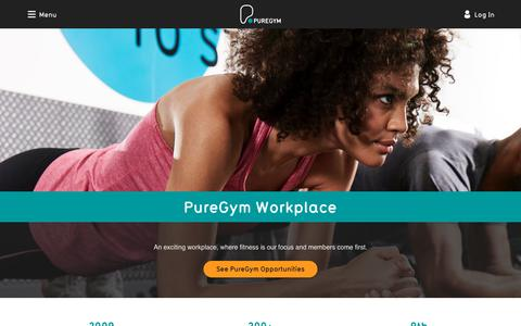Workplace | PureGym