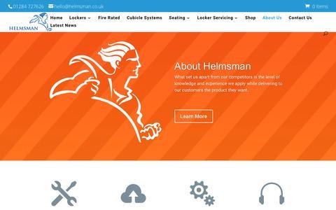 Screenshot of About Page helmsman.co.uk - About Us - UK | Helmsman - captured July 18, 2018