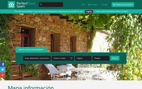 Screenshot of Services Page hotelcasaroja.com - Hotels, apartments and country house lodges in Spain. Quality Tourism.Perfect Places Spain. - captured Oct. 23, 2014