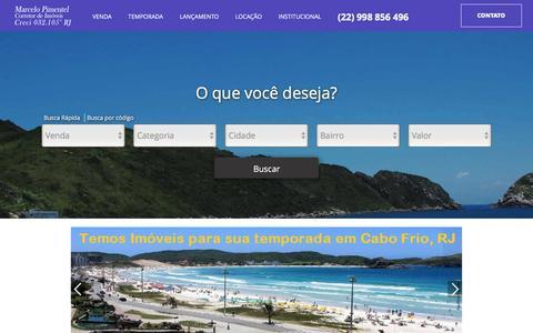 Screenshot of Home Page alfaimobi.com.br - Marcelo Pimentel - captured Nov. 19, 2016