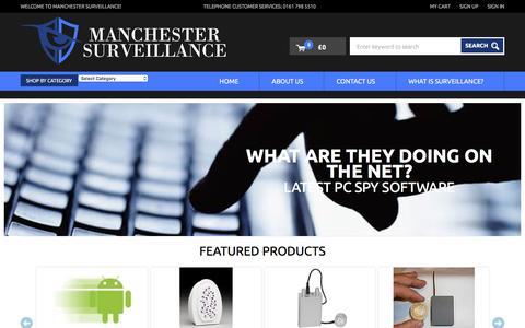 Screenshot of Home Page mscspytek.com - Spy Equipment UK, Surveillance, Spy Cameras, Spy Gadgets & Covert Gear - captured March 9, 2016