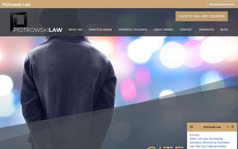 Screenshot of Site Map Page cplaw-miami.com - Sitemap - Miami Criminal Lawyer - captured Nov. 10, 2018