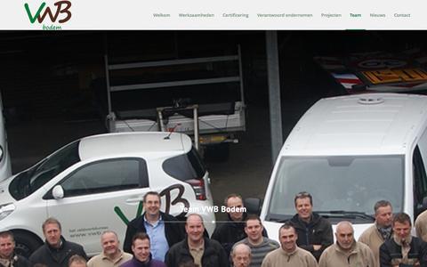 Screenshot of Team Page vwb.nl - Het Veldwerkbureau |   Team - captured Jan. 29, 2016