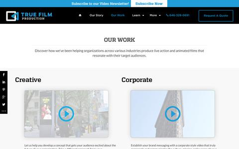 Our Work | Video Production Company - New York, NYCTrue Film Production – NYC Corporate Video Production Company