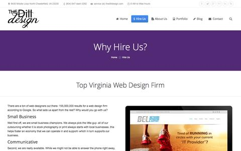 Screenshot of Pricing Page thedilldesign.com - Web Designer in Richmond Chesterfield Virginia | The Dill Design - captured Sept. 30, 2014