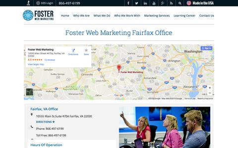 Fairfax Web Marketing Company | Foster Web Marketing