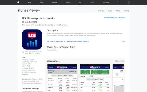 U.S. Bancorp Investments on the App Store