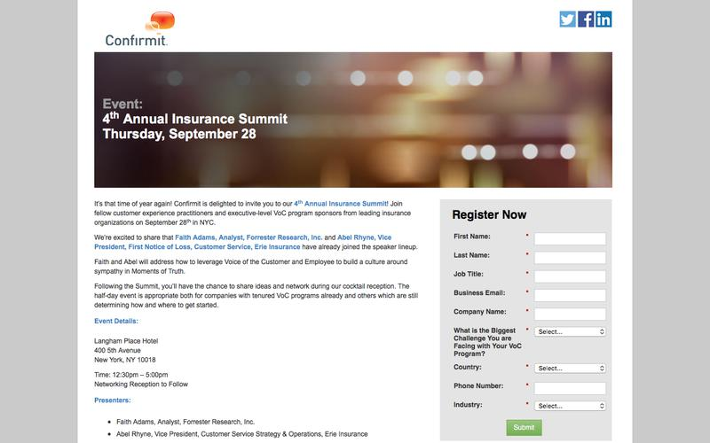 Event: 4th Annual Insurance Summit